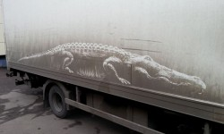 Dessins sur véhicules sales par Nikita Golubev