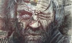 Portraits sur journal par Samuel Guillemot