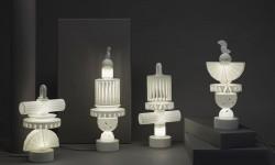 Lampes sculpturales par Ying Chang