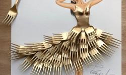 Robes de soirées amusantes d'Edgar Artis