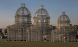 Monuments en fil de fer d'Edoardo Tresoldi