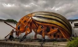 Monde d'insectes géants par Sergio Odeith
