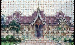 Mosaique urbaine par Seung Hoon Park