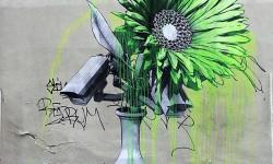 Art de rue et nature morte par Ludo