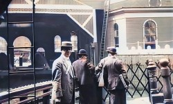 Voyage à travers New York en 1911 en 4K...